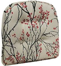 amazon com pillow perfect linen red french postale chair cushion