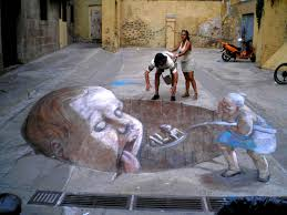 3d Art 100 Amazing Street Paintings With Effects Free Premium