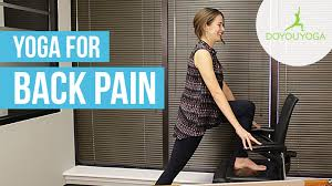 Youtube Chair Yoga Sequence by Office Yoga For Back Pain Day 10 The Office Yoga Challenge