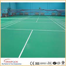 Pvc Easy Clean Plastic Floor Covering Rolls Vinyl Portable Indoor Tennis Court Decorative Mats