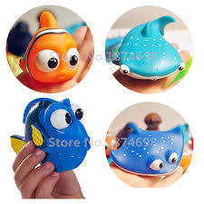 aliexpress com buy finding dory baby bath toy set of 4 dory nemo