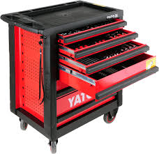 100 Service Truck Tool Drawers SERVICE TOOL CABINET WITH TOOLS 6 DRAWERS 177PCS Yato