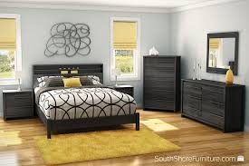 amazon com south shore tao 6 drawer double dresser gray oak