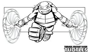 Teenage Mutant Ninja Turtles Coloring Pages Free Colouring Sheets Printable Full Size