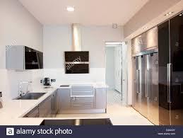 moderne luxus küche stockfotografie alamy
