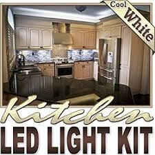 biltek 6 ft cool white kitchen counter cabinet led lighting