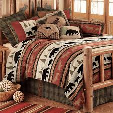 Rustic Lodge Bedding Western And Cabin Collections Find A Huge Selection Of Luxury Bedroom Furniture Sets