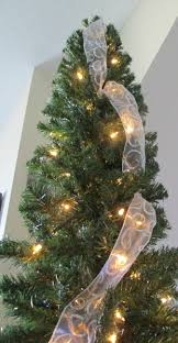 How To Hang Ribbon On A Christmas Tree Decorations Seasonal