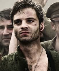 Sebastian Stan Bucky Barnes And Captain America Image