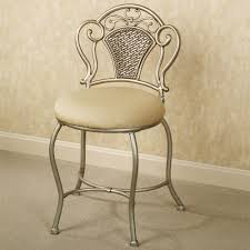 Acrylic Vanity Chair With Wheels by Vanity Chair With Back Decofurnish