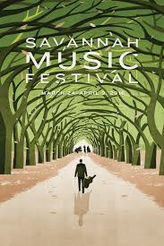 2016 Savannah Music Festival Poster