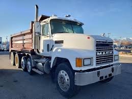 100 Used Quad Axle Dump Trucks For Sale 2001 Mack CH600 Truck E7 450HP 18 Spd