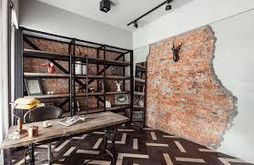 bureau design industriel appartement moderne à taipei au design industriel et rustique à la