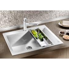 Blanco Sink Strainer Replacement Uk by Blanco Pleon 8 Silgranit Puradur Ii 700 X 510mm Single Bowl Inset