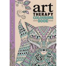 The Art Therapy Colouring Book Anti Stress Doodling And Drawing From Creating Free Flowing Lines Swirls To Shading In Intricate