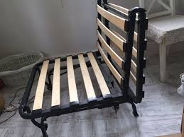 ikea chair bed frame lycksele murbo in knutsford cheshire