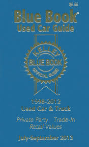 Kelley Blue Book Used Car Guide, July - Sept 2013: Kelley Blue Book ...