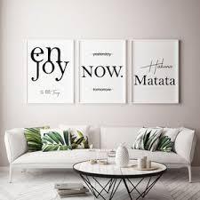 poster 3er set home bild wohnzimmer geschenk umzug
