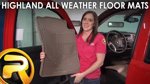 Lund Rubber Floor Mats by Highland All Weather Floor Mats Fast Facts Youtube