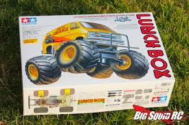 100 Monster Truck Lunch Box Product Spotlight Throwback Thursday Edition Tamiya