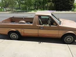 100 Rabbit Truck 1982 Volkswagen 17 V4 Manual Pickup For Sale