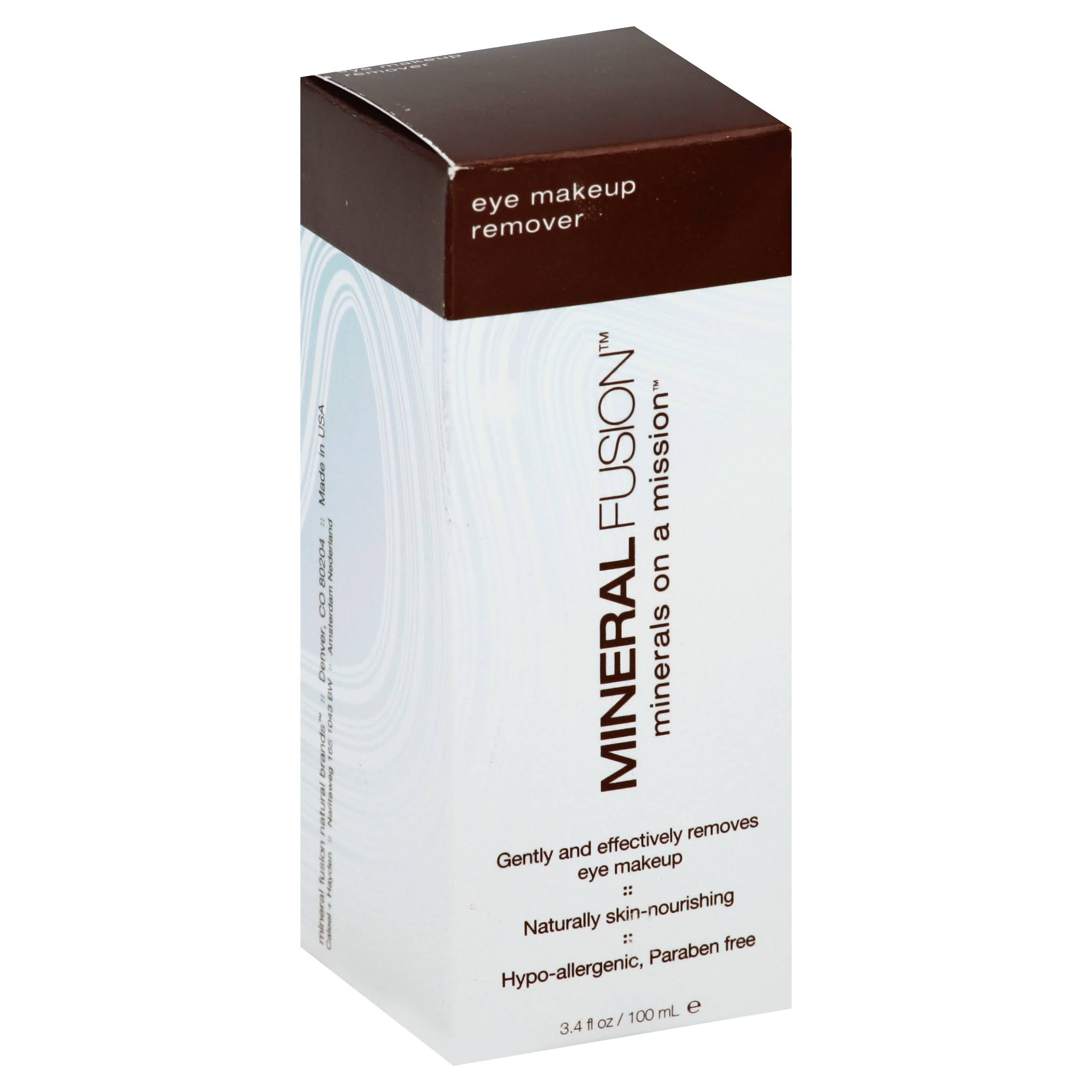 Mineral Fusion Natural Brands ­Eye Makeup Remover - 100ml