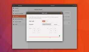 How to Enable Night Light on Ubuntu 17 10 OMG Ubuntu