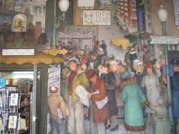 Coit Tower Murals Diego Rivera by Coit Tower Arnautoff Mural San Francisco Ca Living New Deal