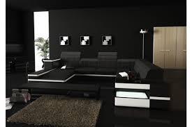 canapé d angle 7 places cuir enzo canapé d angle cuir design