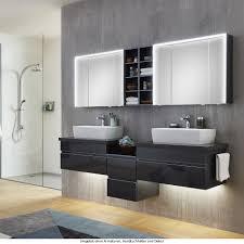 marlin 3390 badmöbel als set mit doppelwaschtisch und aufsatzbecken nach wahl