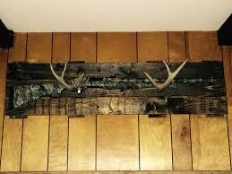 Diy Gun Cabinet Plans by Pallet Wood And Antler Gun Rack Antlers Pinterest Pallet