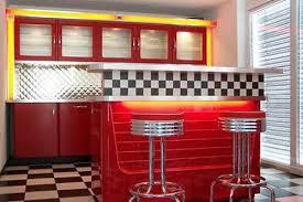 american diner küche 60er küche 50er amerikanische küche