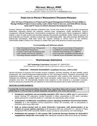 Resume Samples Elite Writing With Project Management Template Example C1wo2