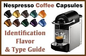 Nespresso Coffee Identification Flavor Type