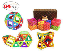 Picasso Tiles Magnetic Building Blocks by Magnet Toys For Toddlers Magniblox Magnetic Building Tiles For