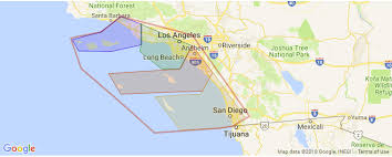 Southern California Surf Map