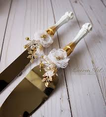 Wedding Cake Server Set Knife Cutting