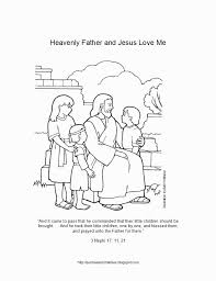 Sunbeam Printables Coloring Page For Lesson 6 Heavenly Father Popular Jesus Loves Me Pages