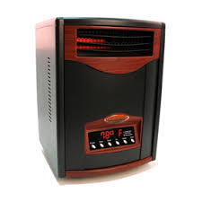 comfort furnace infrared heater matte black with uv light heater