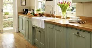 Pine kitchen cabinets for saving space