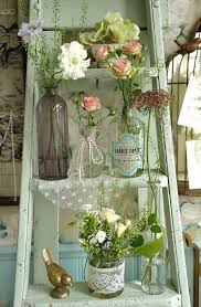 Shabby Chic Wedding Decor Pinterest by Best 25 Vintage Ladder Ideas On Pinterest Decorative Ladders