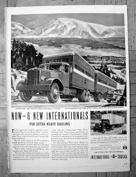 100 1946 International Truck Harvester Heavy Hauling SOriginal Etsy