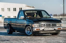 100 Datsun Truck Khabarovsk Russia March 3 2016 Car Nissan Pickup