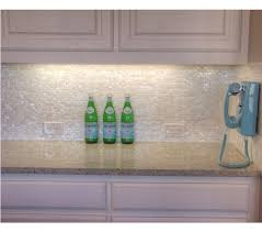 subway oyster of pearl rectangle shell mosaic for kitchen