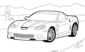 How To Draw Hot Wheels Coloring Page