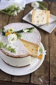 klassische käse sahne torte mit pfirsichen lissi s