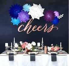 Wedding Wall Decorations Cm Paper Flower Party Decoration Artificial Flowers Romantic Rustic