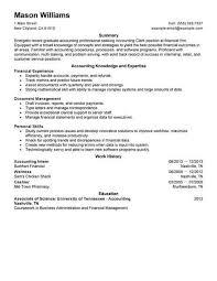 Best Accounting Clerk Resume Example