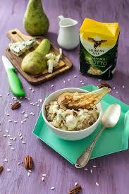 cuisine avec du riz recette de risotto taureau ailé à la poire et au fromage bleu