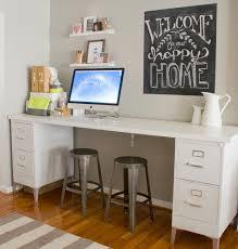 Corner Desk Organization Ideas by Best 25 File Cabinet Desk Ideas On Pinterest Filing Cabinet